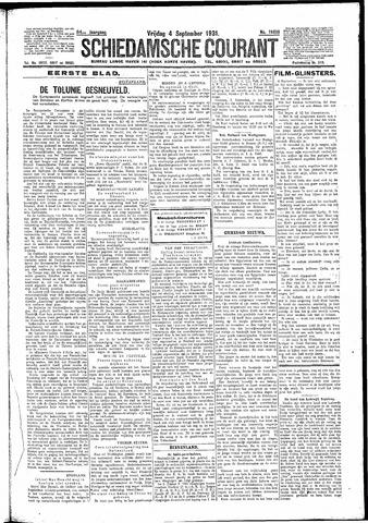 Schiedamsche Courant 1931-09-04