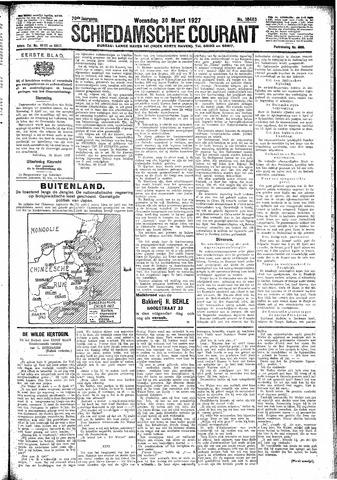 Schiedamsche Courant 1927-03-30