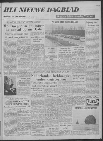 Nieuwe Schiedamsche Courant 1961-10-05