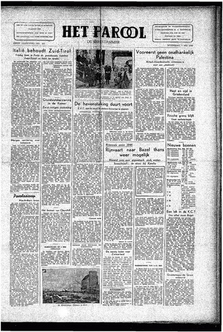 Rotterdamsch Parool / De Schiedammer 1946-05-01