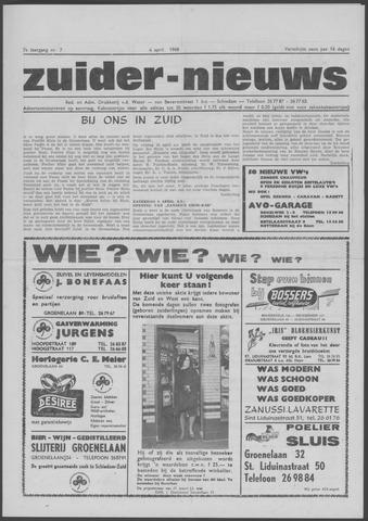 Zuider Nieuws 1968-04-04