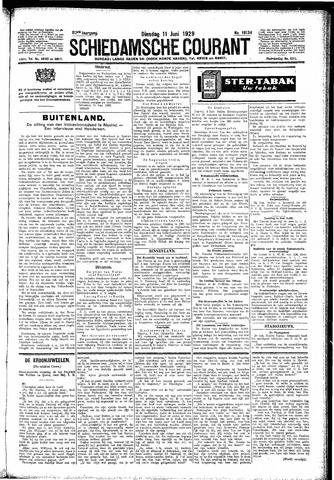 Schiedamsche Courant 1929-06-11