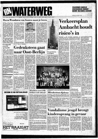 Rotterdamsch Nieuwsblad / Schiedamsche Courant / Rotterdams Dagblad / Waterweg / Algemeen Dagblad 1987-03-20