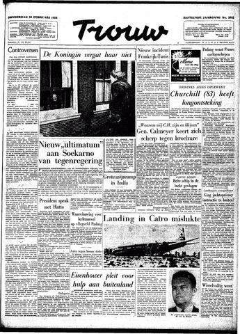 Trouw / De Rotterdammer 1958-02-20