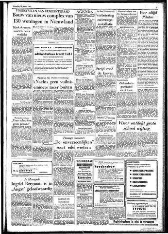 Rotterdamsch Parool / De Schiedammer 1961-03-18