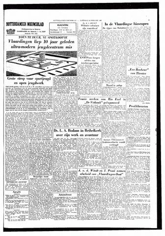 Rotterdamsch Nieuwsblad / Schiedamsche Courant / Rotterdams Dagblad / Waterweg / Algemeen Dagblad 1965-02-20