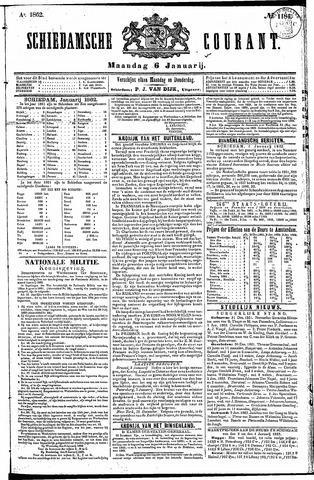Schiedamsche Courant 1862-01-06