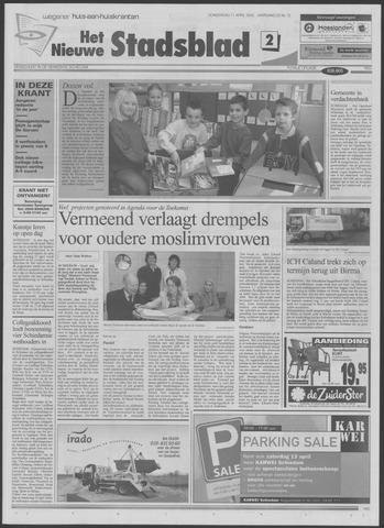 Het Nieuwe Stadsblad 2002-04-11
