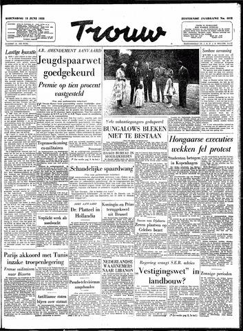 Trouw / De Rotterdammer 1958-06-18