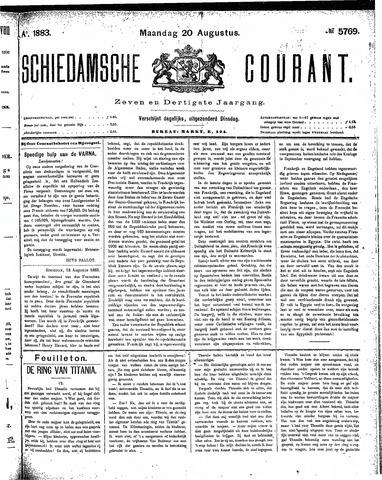 Schiedamsche Courant 1883-08-20