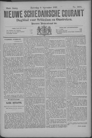 Nieuwe Schiedamsche Courant 1897-11-06