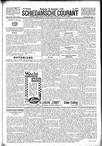 Schiedamsche Courant 1929-09-18