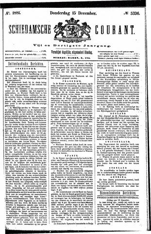 Schiedamsche Courant 1881-12-15