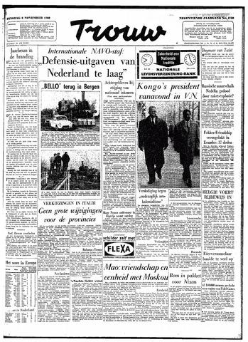 Trouw / De Rotterdammer 1960-11-08
