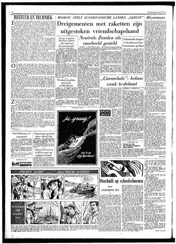 Rotterdamsch Parool / De Schiedammer 1957-04-04