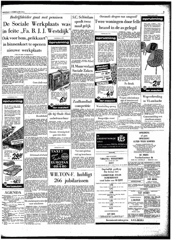 Rotterdamsch Parool / De Schiedammer 1963-02-01