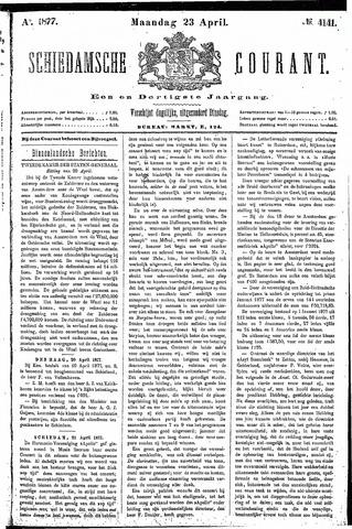 Schiedamsche Courant 1877-04-23