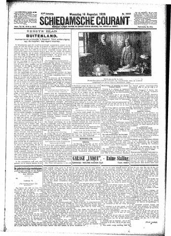 Schiedamsche Courant 1929-08-14