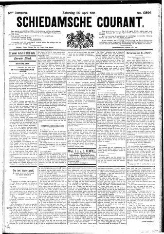 Schiedamsche Courant 1912-04-20