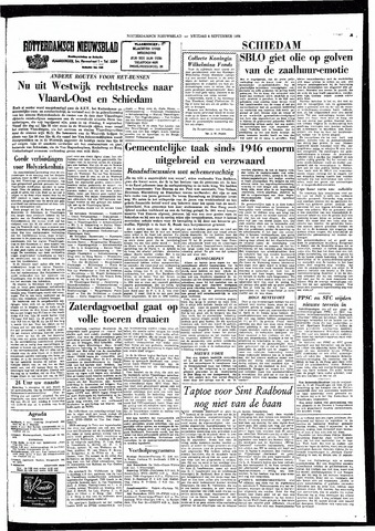 Rotterdamsch Nieuwsblad / Schiedamsche Courant / Rotterdams Dagblad / Waterweg / Algemeen Dagblad 1964-09-04