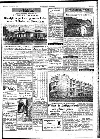 Rotterdamsch Nieuwsblad / Schiedamsche Courant / Rotterdams Dagblad / Waterweg / Algemeen Dagblad 1959-08-26