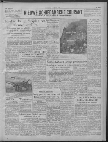 Nieuwe Schiedamsche Courant 1949-10-06