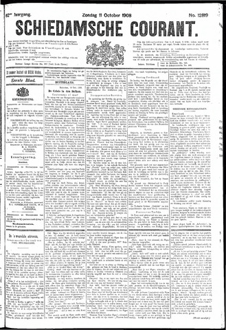 Schiedamsche Courant 1908-10-11