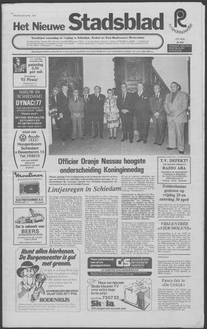 Het Nieuwe Stadsblad 1977-04-29
