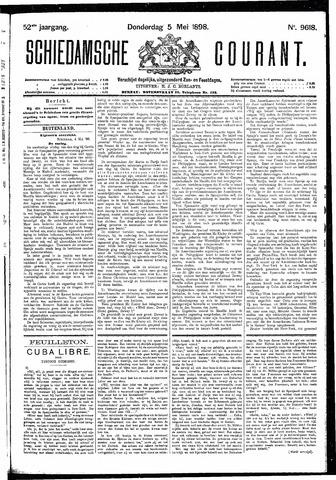 Schiedamsche Courant 1898-05-05