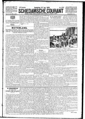 Schiedamsche Courant 1929-06-27