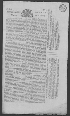Rotterdamse Courant 1826-02-14
