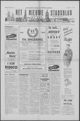 Het Nieuwe Stadsblad 1956-04-25