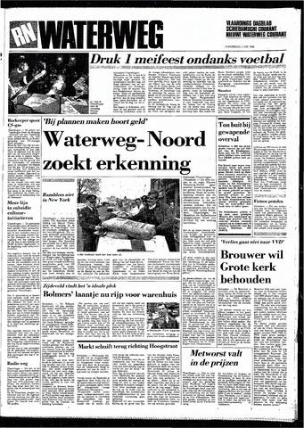 Rotterdamsch Nieuwsblad / Schiedamsche Courant / Rotterdams Dagblad / Waterweg / Algemeen Dagblad 1985-05-02