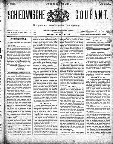 Schiedamsche Courant 1885-06-18