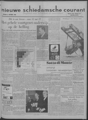 Nieuwe Schiedamsche Courant 1958-10-31
