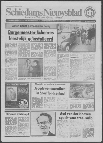Schiedams Nieuwsblad 1984-01-18