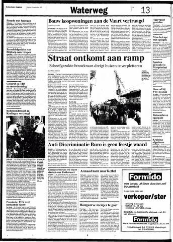 Rotterdamsch Nieuwsblad / Schiedamsche Courant / Rotterdams Dagblad / Waterweg / Algemeen Dagblad 1991-09-20