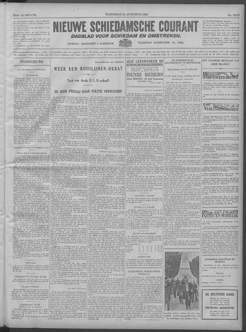 Nieuwe Schiedamsche Courant 1932-08-24