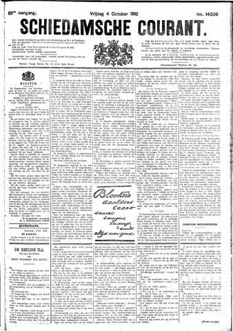 Schiedamsche Courant 1912-10-04