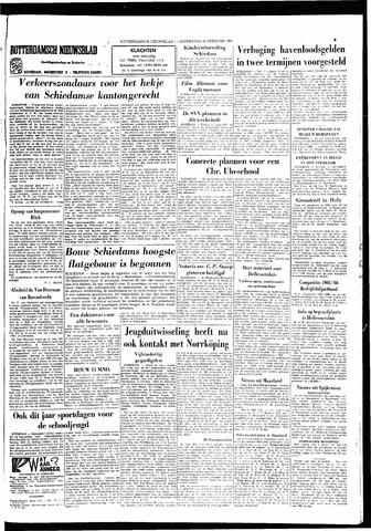 Rotterdamsch Nieuwsblad / Schiedamsche Courant / Rotterdams Dagblad / Waterweg / Algemeen Dagblad 1966-02-24