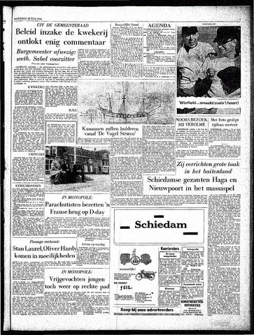 Rotterdamsch Parool / De Schiedammer 1962-07-28