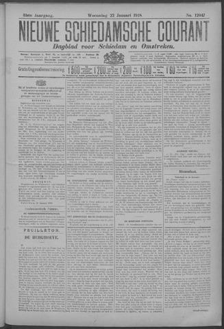 Nieuwe Schiedamsche Courant 1918-01-23