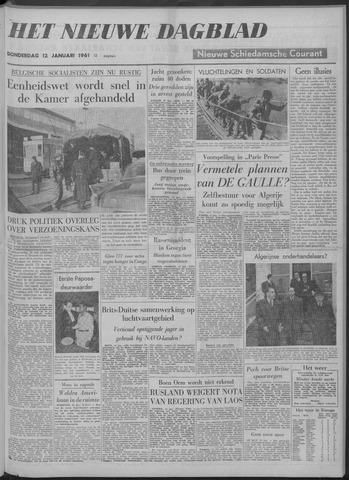 Nieuwe Schiedamsche Courant 1961-01-12