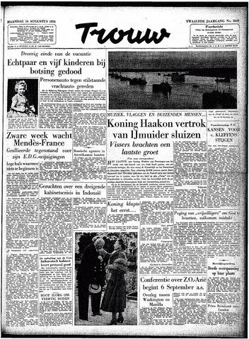 Trouw / De Rotterdammer 1954-08-16