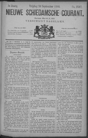 Nieuwe Schiedamsche Courant 1886-09-24