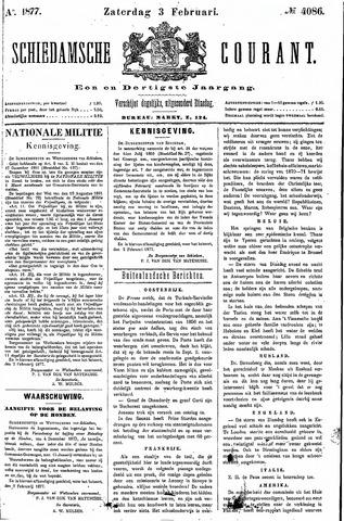Schiedamsche Courant 1877-02-03