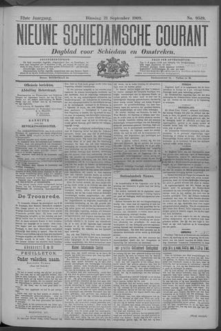 Nieuwe Schiedamsche Courant 1909-09-21