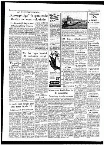 Rotterdamsch Parool / De Schiedammer 1955-09-09