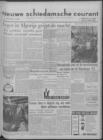 Nieuwe Schiedamsche Courant 1958-05-14