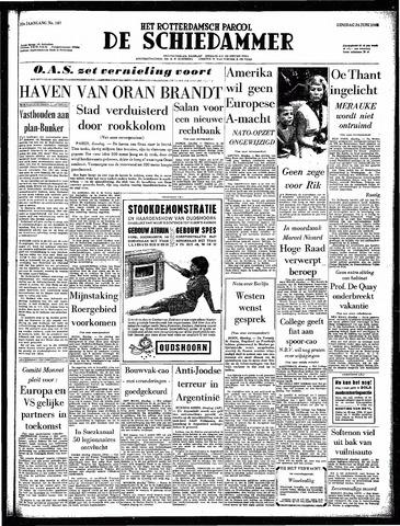 Rotterdamsch Parool / De Schiedammer 1962-06-26